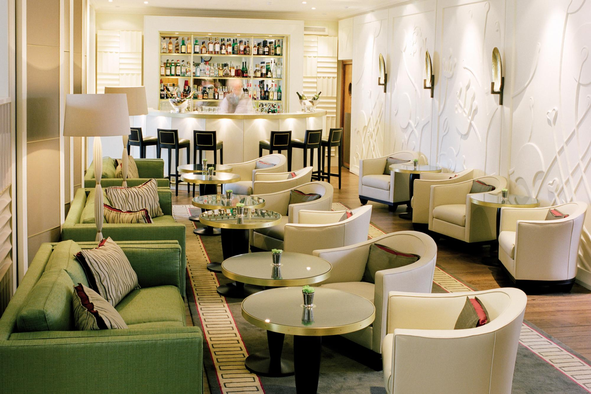 The Studio Was Asked By Richard Caring To Redesign Restaurant Bar And Lounge Of His Famous Golf Club